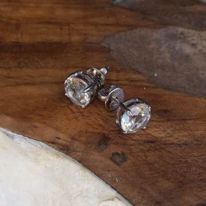 Picture of the Clear Quartz Studs