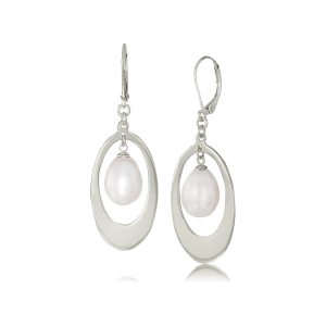 LR 150 Sterling Silver Oval Loops