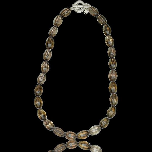 LR 175 Smokey Quartz Necklace