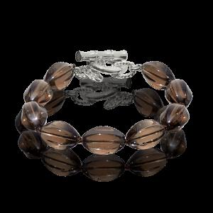LR 176 Smokey Quartz Bracelet