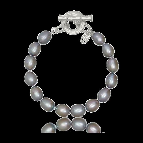 LR 373 Silver Pearl Bracelet